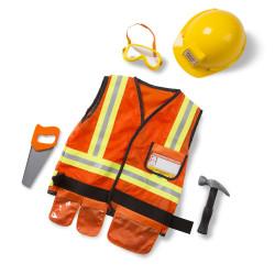 ميليسا آند دوج مجموعة أزياء لعب دور عامل البناء ، 3-6 سنوات