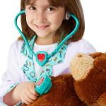 melissa & doug Doctor Role Play Costume Set, 3-6 years