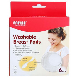 Farlin Baby Breast Pad Washable