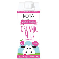 Koita Organic Strawberry Milk 200 ml