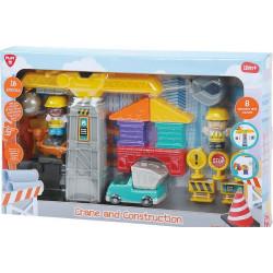 PlayGO Classic Crane And Construction  B/O