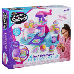 Cra-Z-Art Shimmer and Sparkle Spa Creations Ultimate Bath Bomb Maker Fashion Craft Kits