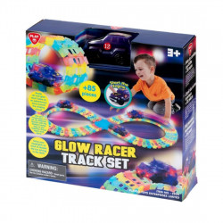 PlayGo Glow Racer Track Set  B/O - Over 85 PCS