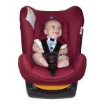 مقعد السيارة للأطفال من شيكو بلون أحمر مقاس 0 + / 1