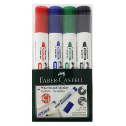 Faber Castell Whiteboard marker Assorted (4pcs)