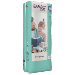 Bambo Nature Diapers Size 6 (16+ Kg), 40 diapers