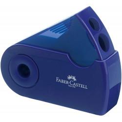 Faber Castell Sleeve Double Hole Sharpener Box, Blue