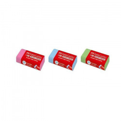 Faber Castell Erasers PVC Free Paper Slv. Pastl, bx/24 (Assorted0