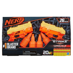 Nerf- 26-Piece Cobra RC-6 Dual Targeting Set