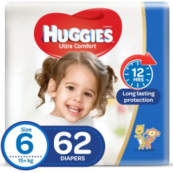 Huggies Mega Diapers Size (6) 62X1