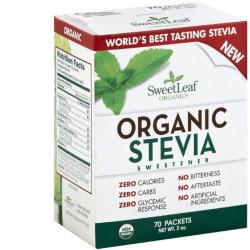 SweetLeaf Organic Stevia packages - 70Pck