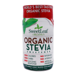 SweetLeaf Powder Shaker Org Stevia Sweetener 92g