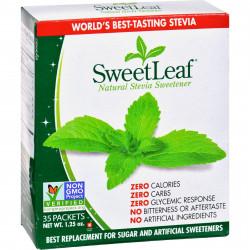 SweetLeaf Stevia Sweetner (35Pck) 1.25oz