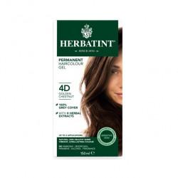 Herbatint Permanent Herbal Haircolour 4D Golden Chestunt, 150ml