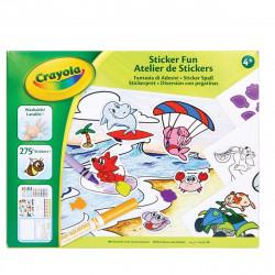 Crayola Sticker Kit - Art and Hobby