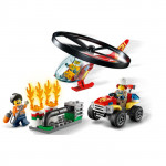 LEGO Fire Response Helicopter
