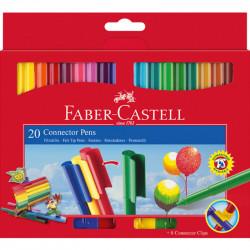 Faber Castell Connector Pen 20 Colors