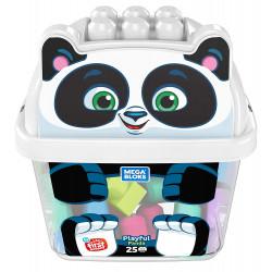 Mega Bloks Playful Bucket Panda
