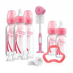 مجموعة هدايا دكتور براون + زجاجة ضيقة العنق الإصدار الوردي الخاص