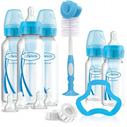 Dr.Brown's Options+ Narrow-Neck Bottle Special Blue Edition Gift Set