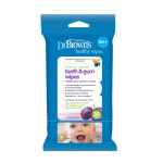 Dr. Brown's 30 Tooth & Gum Wipes