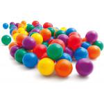 Intex Fun Balls - 100 Multi-Colored Plastic Balls, for Ages 2+