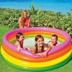 Intex Sunset Glow Swimming Pool, 168 cm X 46 cm
