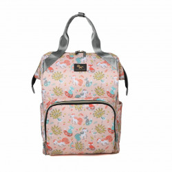 Colorland Roomy Multifunction Diaper Bag Backpack Insulation Mommy bag, Fox Pattern