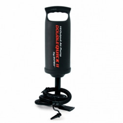 Intex - Double Quick Air Pump, Black, 36 cm