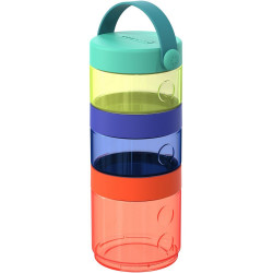 Skip Hop Grab and GO Formula to Food Container Set, Multi Colors