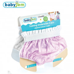 Babyjem Training Pant Boxed, 2 psc, 3 Years, Pink
