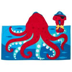 Stephen Joseph Hooded Towels, Octopus