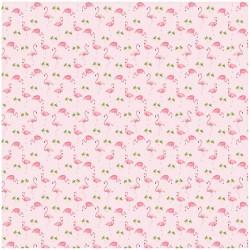 Stephen Joseph Muslin Blanket, Flamingo