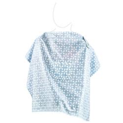 Babyjem Nursing Apron with Pocket, Blue