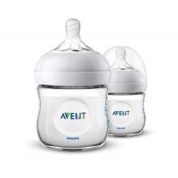 Philips Avent Natural Bottle 2 Pack, 125 ml