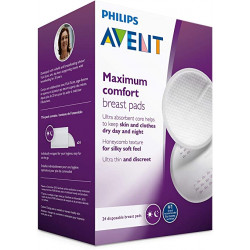 Philips Avent Disposable Breast Pads Day -24 Pieces