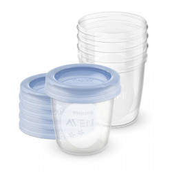 Philips Avent Breast Milk Storage Cup 180 Ml, 5 Pcs