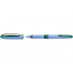 Schneider One Hybrid N Rollerball Pen, 0.5mm, Green