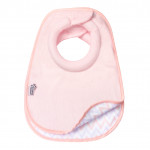 Tommee Tippee Closer to Nature Milk Feeding Bibs, 2 pieces, Baby Pink