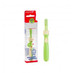 فرشاه الاسنان التعليميه المستوى الثالث من بيجين , اخضر