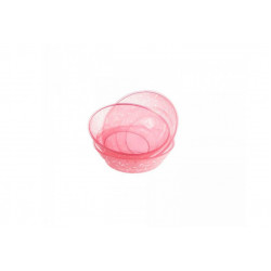 Tommee Tippee Basics Bowls x3, Pink