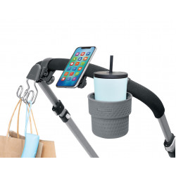 Skip Hop Stroll & Connect Universal Stroller Accessory Set - Charcoal