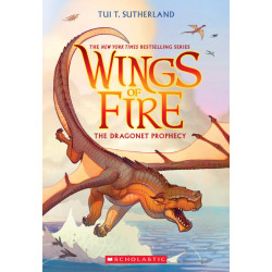 Wings of Fire #1: The Dragonet Prophecy, 336 pages