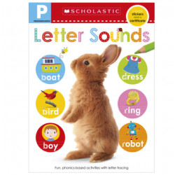 Scholastic Early Learners: Pre-K Skills Workbook: Letter Sounds, 24Pages