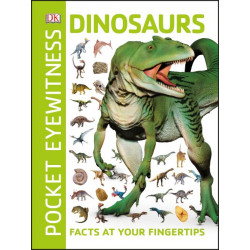 Pocket Eyewitness Dinosaurs, 160 pages