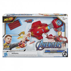 Marvel Nerf Power Moves Avengers Iron Man Repulsor Blast Gauntlet