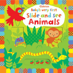 Baby's Very First Slide and See Animals, 10 pages