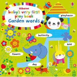 Baby's Very First Play book Garden Words, 10 pages