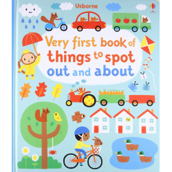 Very First Book of Things to Spot: Out and About, 30 pages