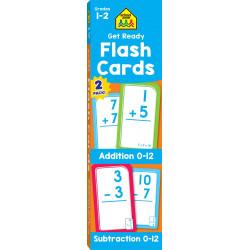 احصل على استعداد لإضافة بطاقات فلاش وطرح 2 حزمة من سكول زون, 110 كارد
